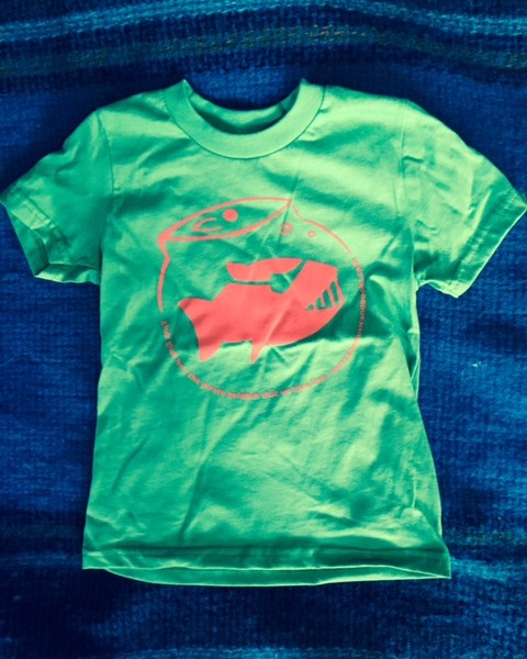Mr. Ryan's Music and Books, Glub Glub Green T-Shirt