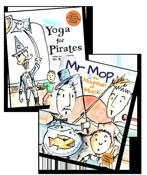 Mr. Ryan's Books - Yoga for Pirates, Mr. Mop