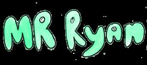 Mr. Ryan Watercolor Name