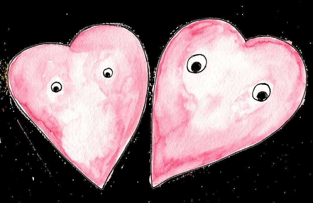 Mr. Ryans Watercolor Hearts