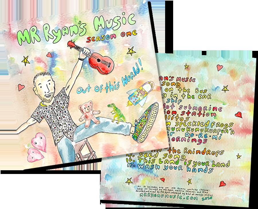 Mr Ryan's Music CD