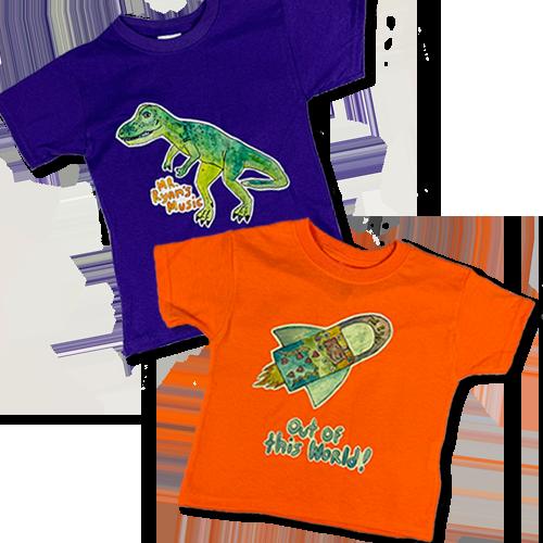 Mr. Ryan's Character Shirts