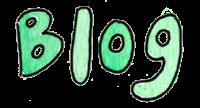 Blog- Watercolor teal wording