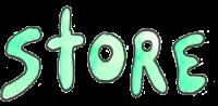 Watercolor wording Store